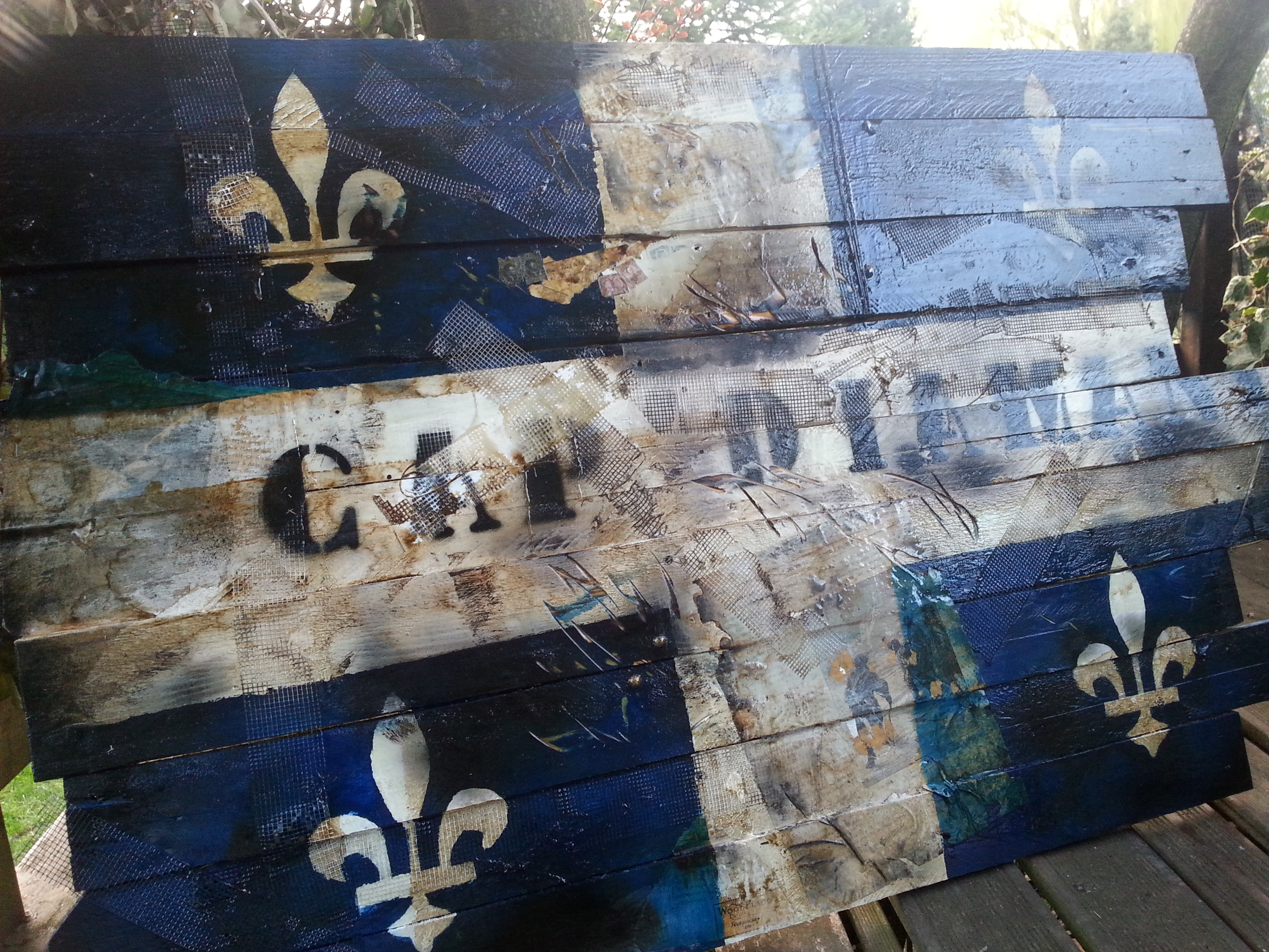Le fleurdis le drapeau qu b cois cliquez pour for Deco murale quebec